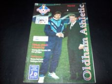Oldham Athletic v Bristol City, 1994/95